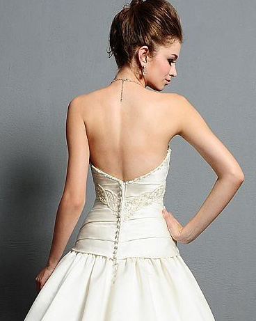 What Lingerie Can I Wear With A Backless Wedding Dress