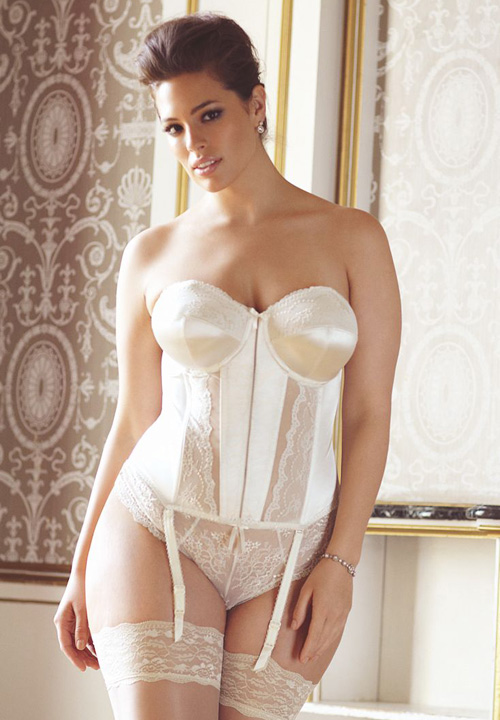 Maria bridal basque by elomi What undergarments for wedding dress shopping