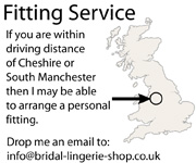 Bridal lingerie Fitting service