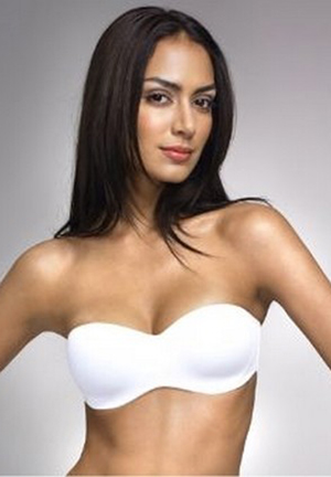 Benmark Moulded Seamless Strapless Bra