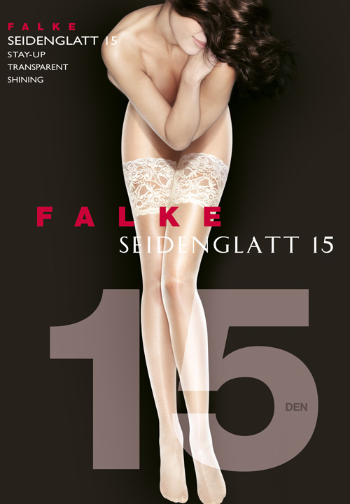 Falke Lace Top Hold-Ups | Bridal Lingerie Shop